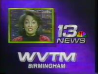 WVTM-TV TV-13 ID with Rene Syler