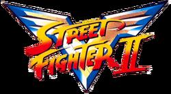Street FIghter II V title card