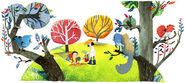 Google Arbor Day