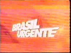 Brasil Urgente 2001