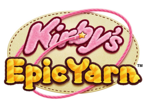Kirbys epic yarn logo