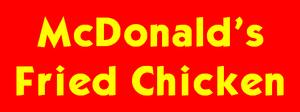 McDonald's Fried Chicken