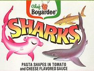 Chef Boyardee sharks logo