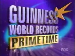 Guinness world records primetime