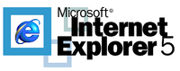 IE5 about logo