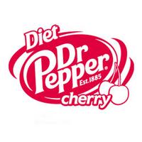 Diet Dr Pepper Cherry logo