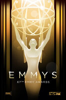 The 67th Annual Primetime Emmy Awards Poster