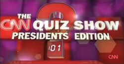 The CNN Quiz Show Presidents Edition