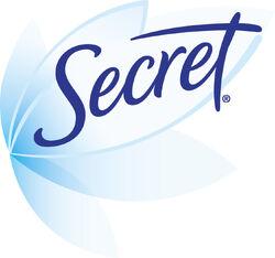Secret deodorant logo 2006