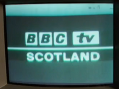 BBC TV 1961 Scotland