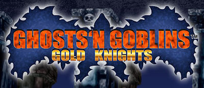 Ghosts'n Goblins Gold Knights logo