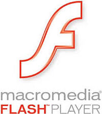 Logo macromedia flash player