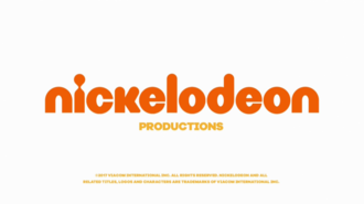 Nickelodeon Productions - 2017 Logo