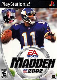Madden NFL 2002 Coverart