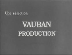 Vauban Production 1936 Logo