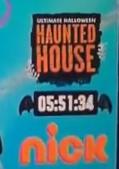 Nickelodeon Ultimate Halloween Haunted House Screen Bug (2016)