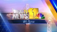 WBAL-TV news at 5PM