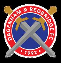 Dagenham and Redbridge FC logo (introduced 2014)