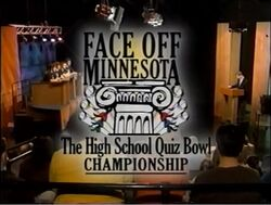 Face-Off Minnesota the Hig School Quiz Bowl Championship