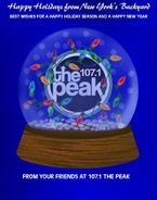 WXPK-FM's 107.1 The Peak's Happy Holidays Promo From December 2011