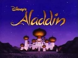 Disney Aladdin intertitle
