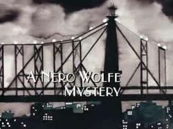 Nero wolfe mystery