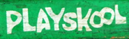 PLayskool-white-in-green
