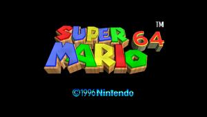 Super Mario 64 Title 16x9