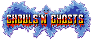 Ghouls n ghosts logo by ringostarr39-d5z5vrl