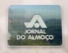 Jornal do Almoço anos 80