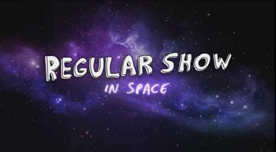 Regular Show In Space