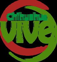 Logo chihuahua vive para world