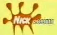 Nick.com logo split screen