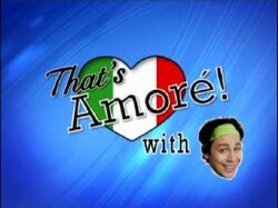 That's Amore! MTV