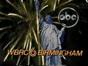 WBRC Channel 6 ID July 1986