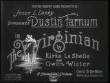 Paramount 1914-the virginian