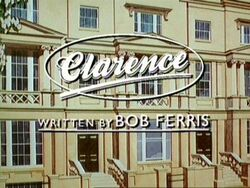 Clarence title card