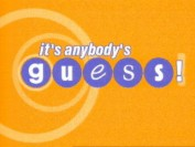 Anybodys guess logo