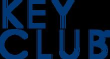 Wordmark KeyClub stacked blue PNG