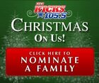 WDBY-FM's The New Kicks 105.5's Christmas On Us Promo For Late 2011