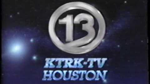 KTRK 13 Eyewitness News Tonight Tease & Open, 8 31 1990