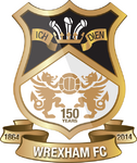 Wrexham FC logo (150 Years)