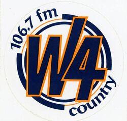 106.7 W4 Country WWWW