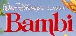Bambi 1989 logo
