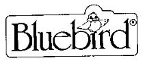 Bluebird Toys logo 1986