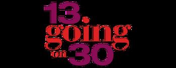 13-going-on-30-movie-logo