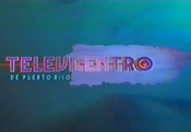 WAPA-TV's Televicentro Video ID from 1998