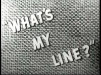 What's My Line 1950 b