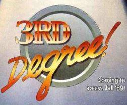 3rd Degree! Flyer Logo