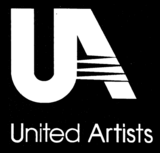 United artists 1987 white black background